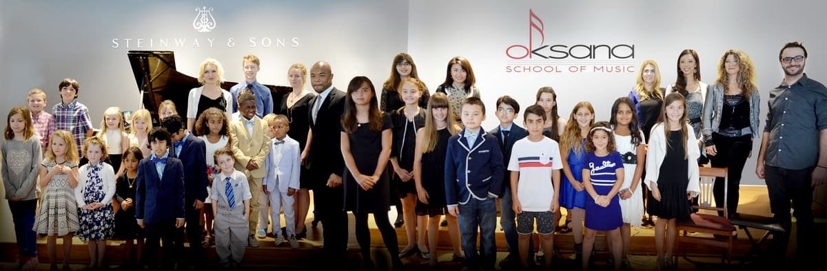 Oksana School of Music Grand Recital 2015